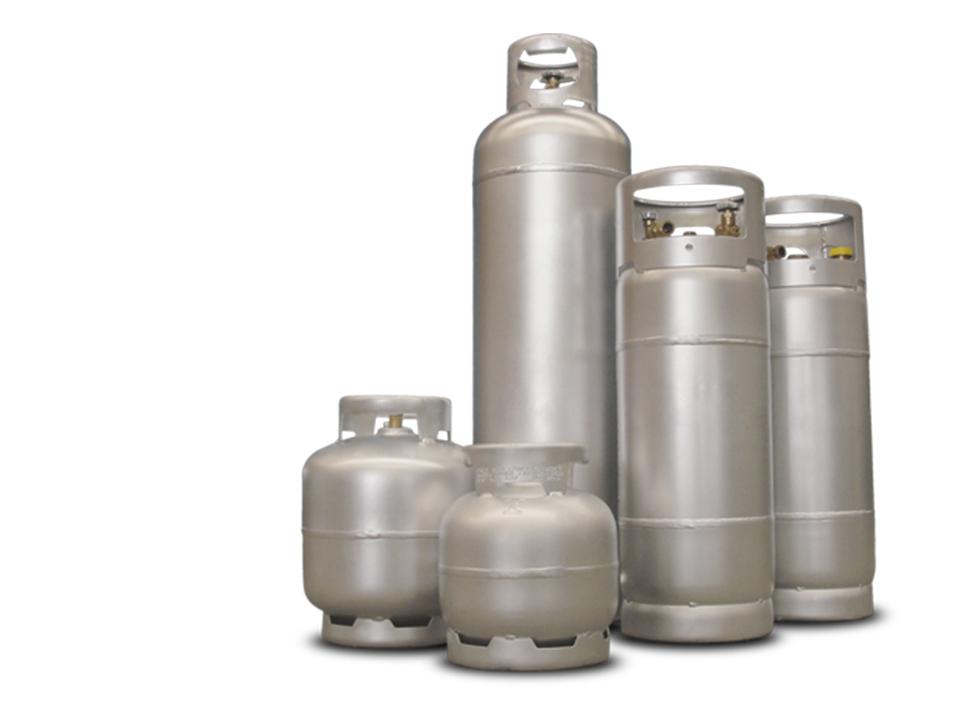 Cada tipo de gás pede um aquecedor diferente