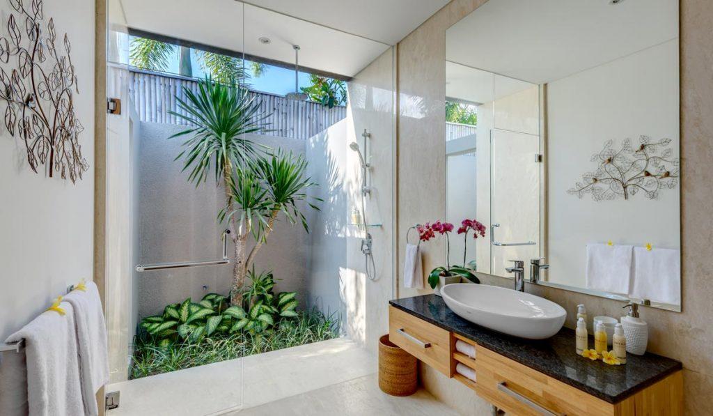 Um banheiro bem decorado proporciona bem-estar