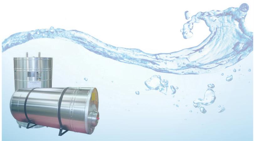 Para grandes demandas de água o boiler é ideal