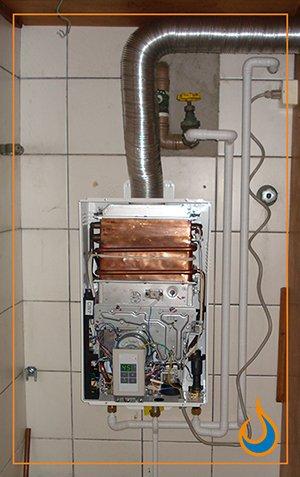 Instalação de Aquecedores a Gás