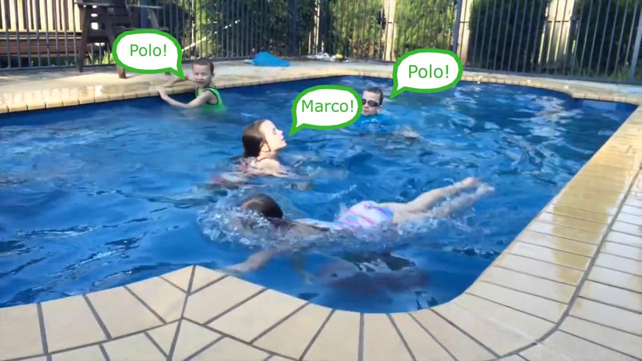 Jogos de Piscina: Marco Polo - Aquecenorte