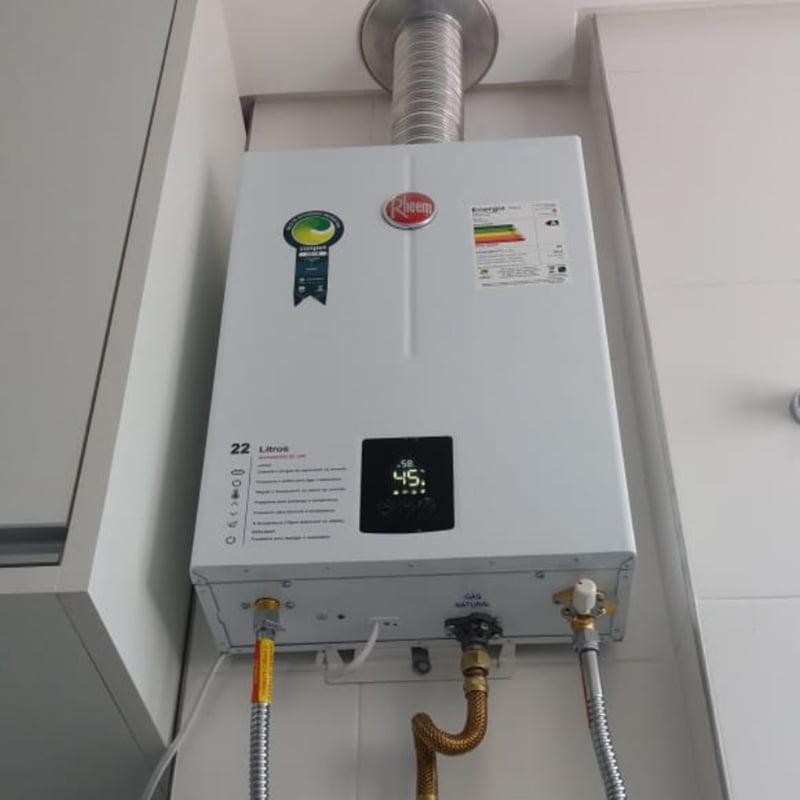 Aquecedor a gás com função solar - Aquecenorte