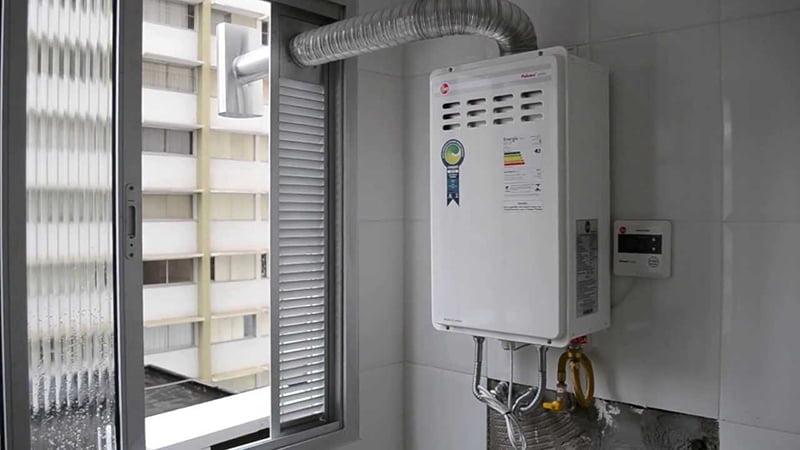 Consumo do aquecedor a gás - Aquecenorte